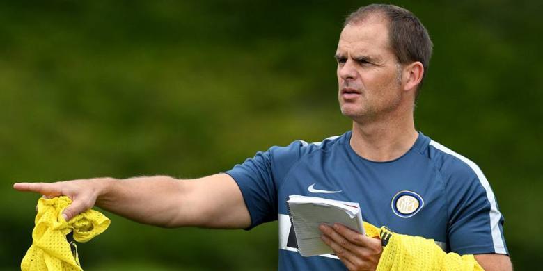 Luapan Kekecewaan De Boer atas Hasil Inter Milan