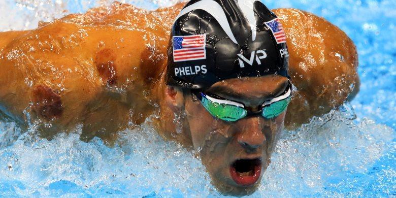 Phelps Raih Medali Emas Ke-21