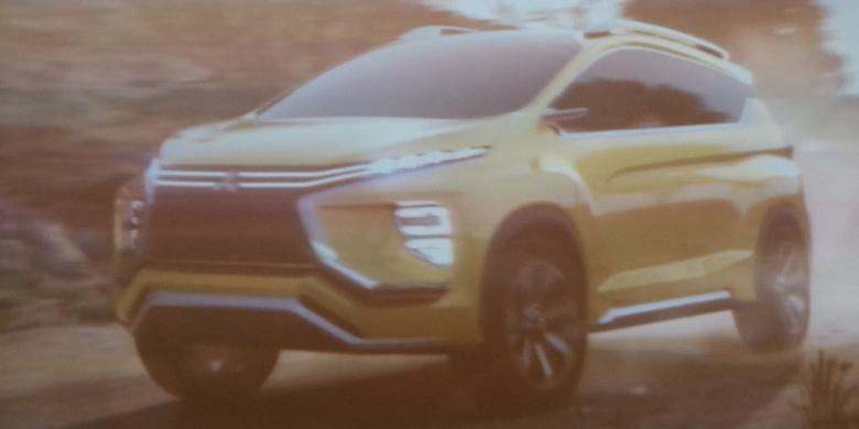 """Tampang MPV """"Sejuta Umat"""" Mitsubishi Dalam Video"""