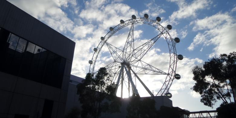 Menikmati Indahnya Melbourne Dari Ketinggian 120 Meter