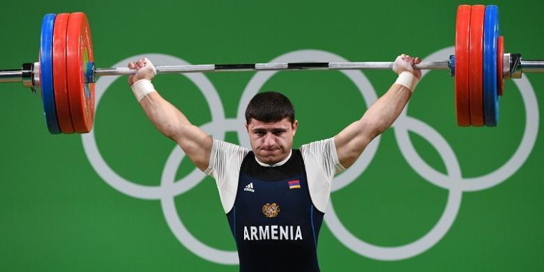 Angkat Beban 195 Kg, Lifter Armenia Alami Cedera Lengan