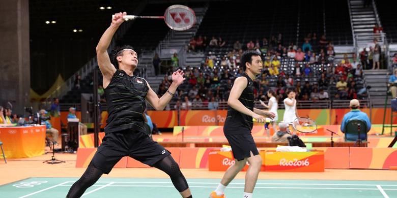 Berakhirnya Petualangan Ahsan/Hendra Pada Olimpiade 2016