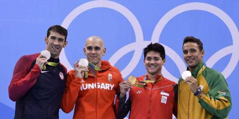 Rekor Olimpik Schooling Jadi Nomor Lotere Favorit