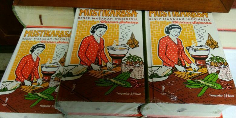 Di Pasar Loak, Buku Masakan Indonesia Ini Dihargai Rp 2,5 Juta