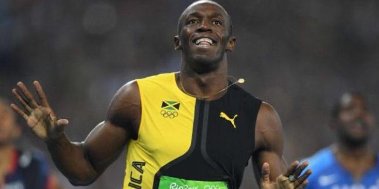 """Bolt Catat """"Hat-trick"""" Raih Emas 100 Meter"""