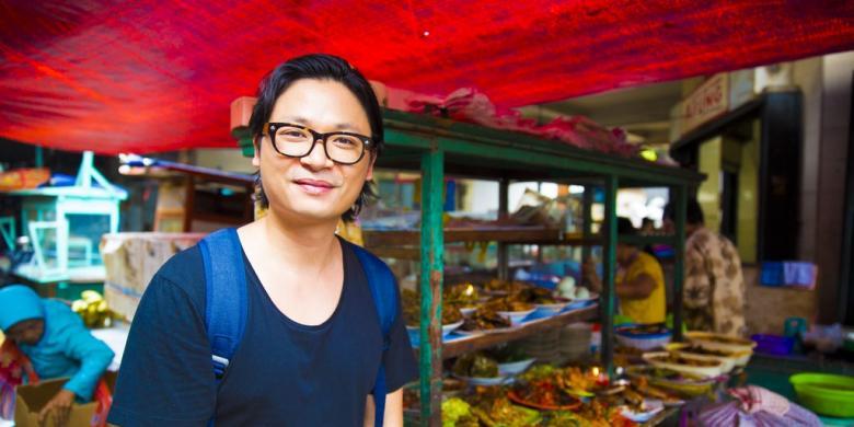 Apa Kata Pakar Kuliner Vietnam-Australia Luke Nguyen Soal Makanan Jalanan Jakarta?