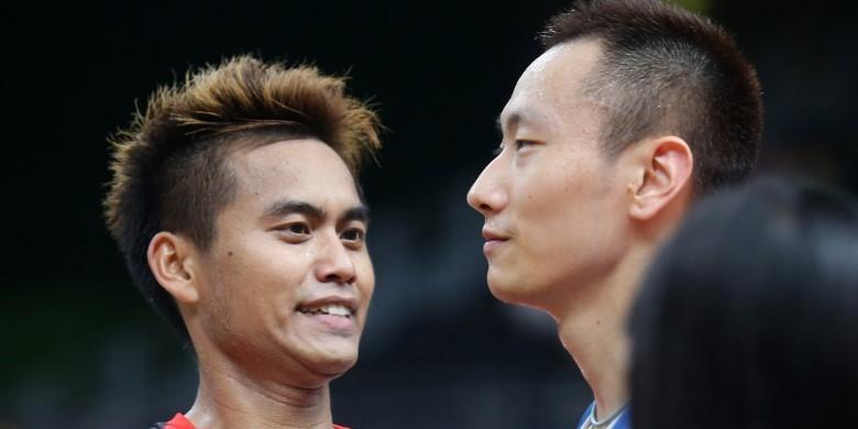 Berita Foto:  Tontowi Tertawa, Zhang Nan Cemberut