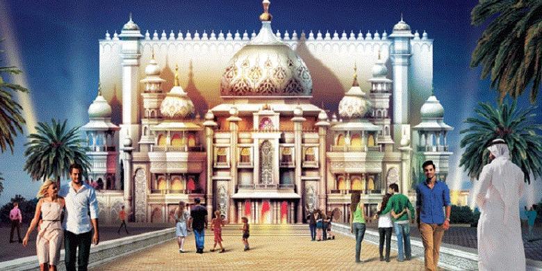 Dubai Segera Resmikan Taman Hiburan Terbesar Di Dunia