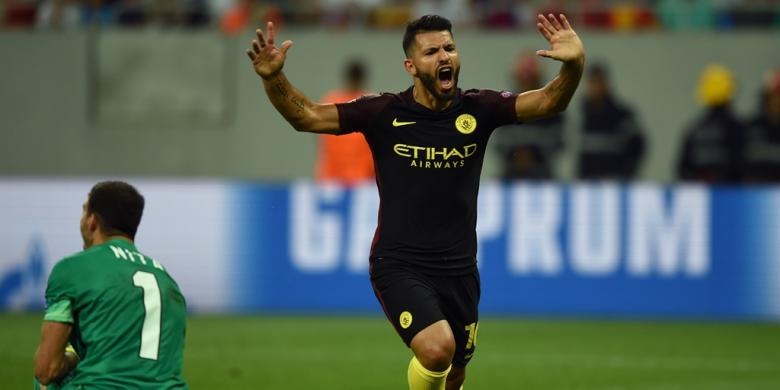 Guardiola Siap Kehilangan Aguero di Derbi Manchester