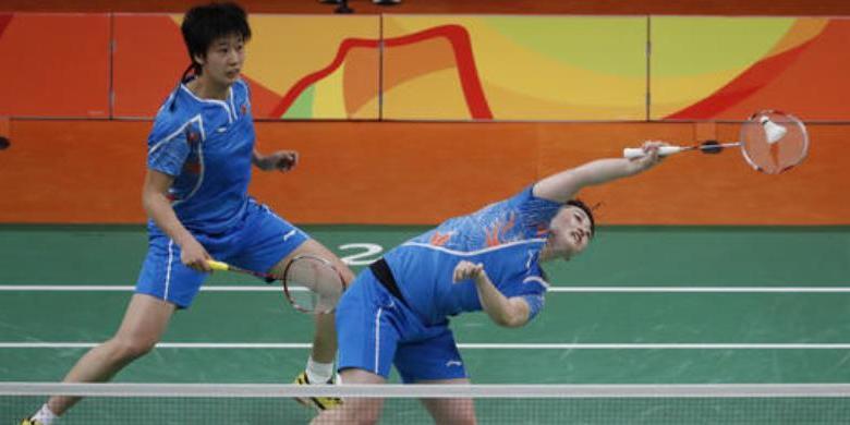 Pemain China Bertumbangan Sebelum Final