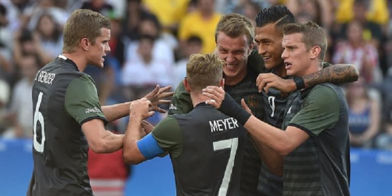 Hasil Olimpiade, Jerman dan Brasil Berebut Medali Emas Sepak Bola