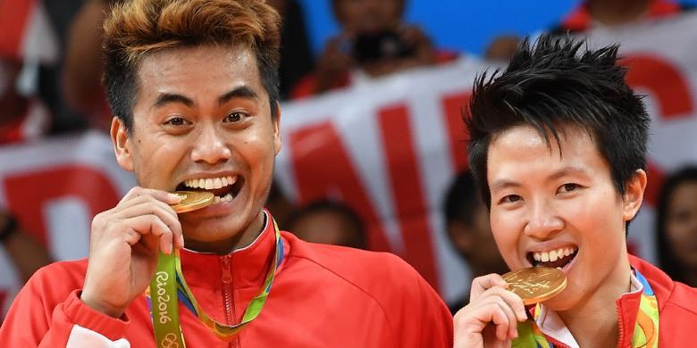 Raih Emas Olimpiade, Tontowi/Liliyana Dapat Rp 5 Miliar Hingga Tunjangan Hari Tua