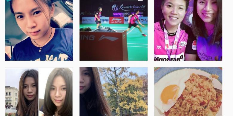 """Dikalahkan Tontowi/Liliyana, Goh Liu Ying Kebanjiran """"Follower"""" Di Instagram"""