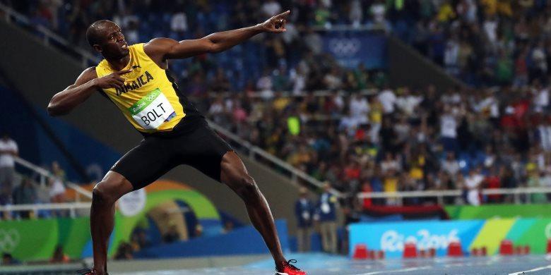 Raih Emas, Bolt Tak Ingin Lagi 200 Meter