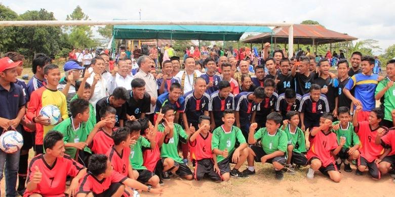 Lapangan Desa Tempat Persemaian Bibit Atlet Potensial