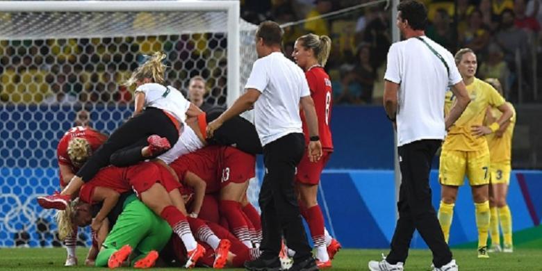 Jerman Raih Medali Emas Sepak Bola Putri Olimpiade
