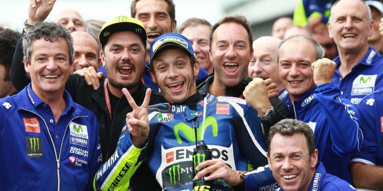 Rossi Berharap Kenangan Manis di Silverstone Terulang