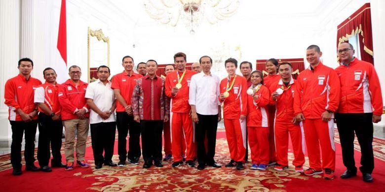 Jokowi Setujui Pembentukan Yayasan Pendanaan Olahraga