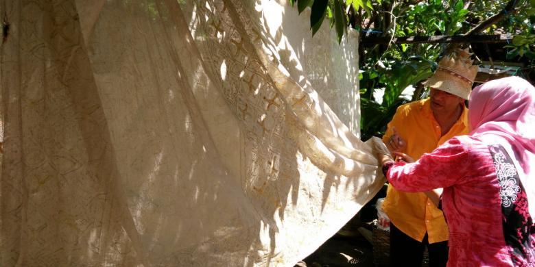 Di Banyuwangi Ada Batik Gunakan Pewarna Alami dari Jengkol