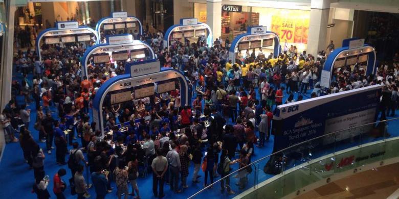 Tiket Ke Singapura Mulai Rp 1,8 Juta Di Singapore Airlines-BCA Travel Fair