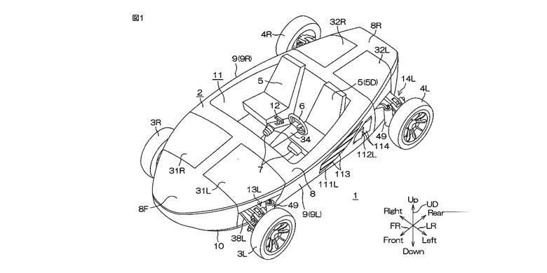 """Yamaha Patenkan Desain Mobil """"Amfibi"""""""