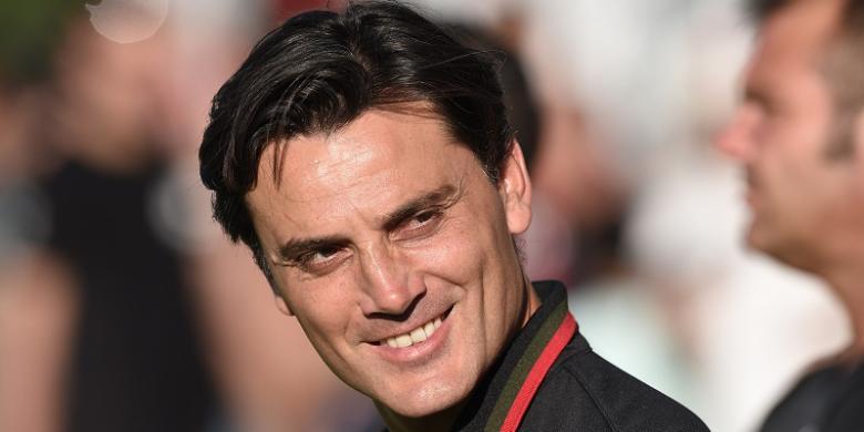 Montella Puji Performa Lapadula di AC Milan