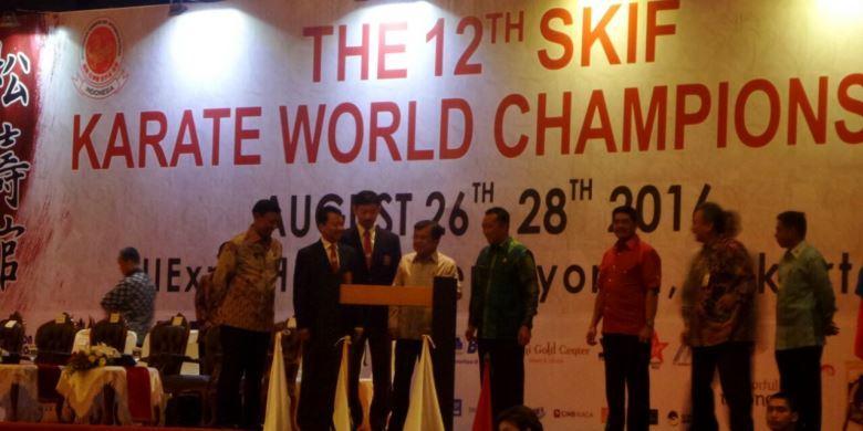Sportivitas Bagian Integral Dalam The 12Th SKIF Karate World Championship