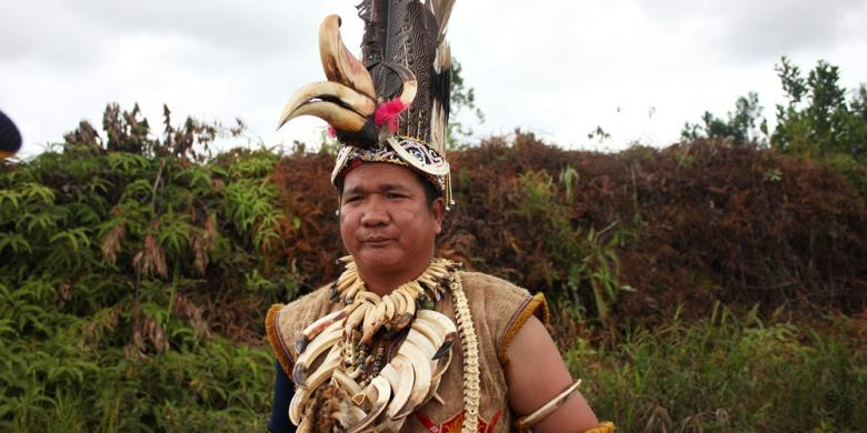 Bedolob, Pengadilan Tuhan Suku Dayak Agabag