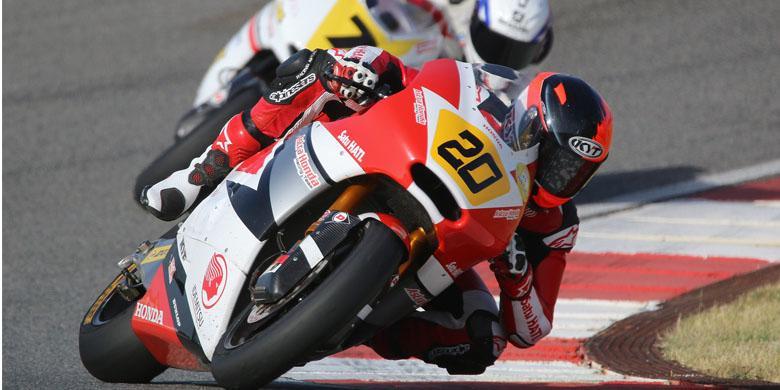 Dimas Targetkan Podium di Moto2 Eropa