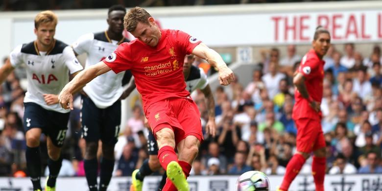 Kesan Milner Jadi Bek Kiri Liverpool