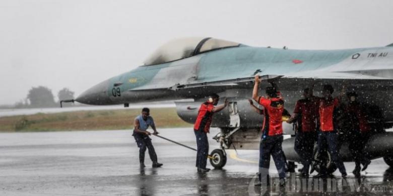 TNI AU: Suara Dentuman Keras di Solo dari Latihan Pesawat F-16