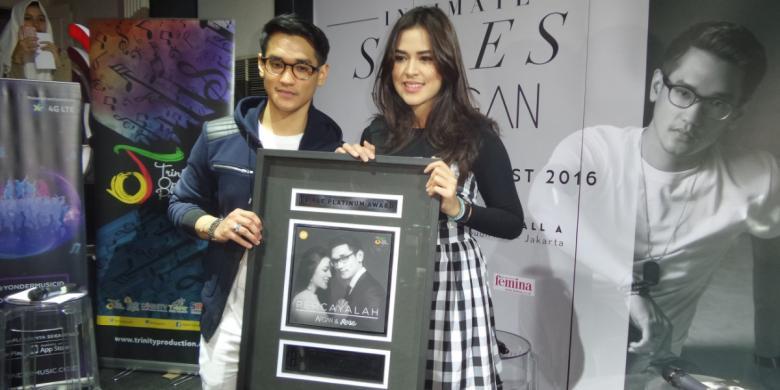 Lagu duet Raisa-Afgan Raih Triple Platinum
