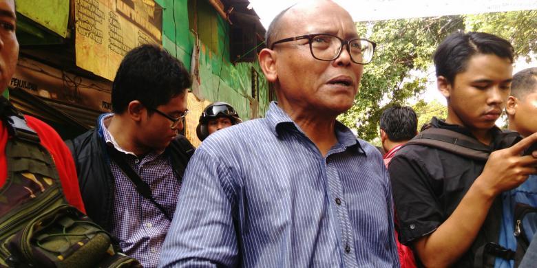 Bela Warga Rawajati, Syarif Minta Ahok dan Wali Kota Jaksel Mundur dari Jabatannya