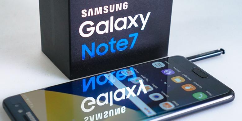 "Samsung Resmi ""Recall"" Galaxy Note 7"