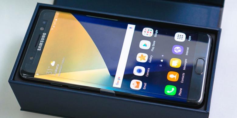 Galaxy Note 7 Berhenti Pakai Baterai Produksi Samsung?