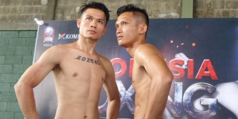 2 Petinju Siap Tarung Di Indonesia Boxing Championship