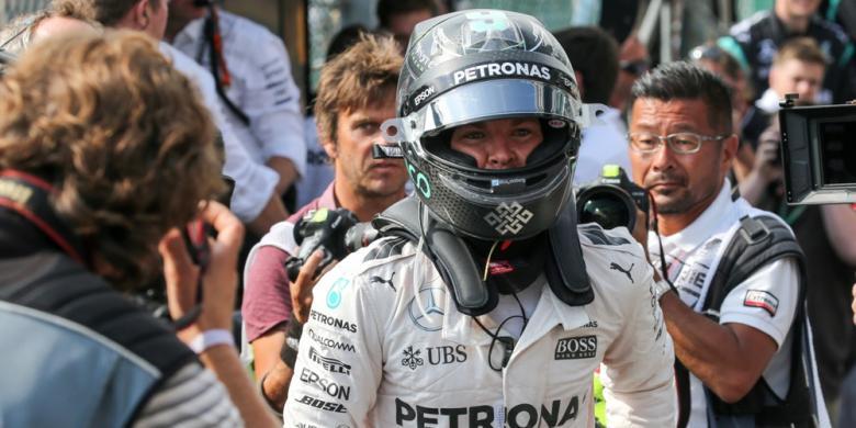 Rosberg Kalahkan Hamilton Pada Sesi Pembuka GP Italia