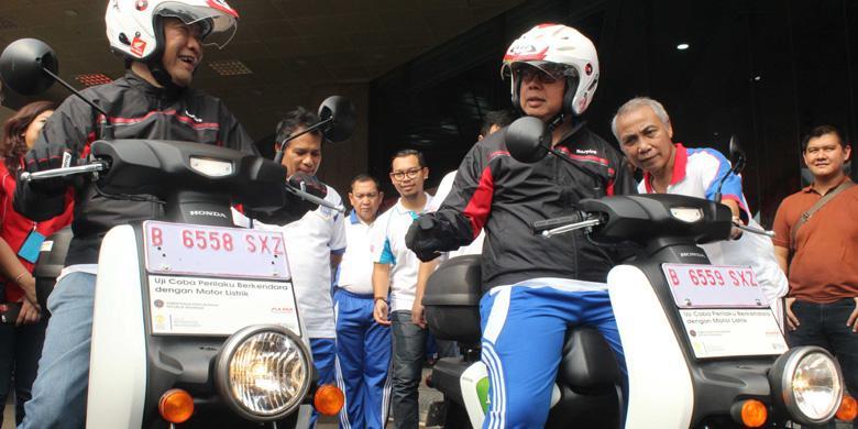 Sebulan Lagi, Honda Selesaikan Studi Motor Listrik Di Indonesia