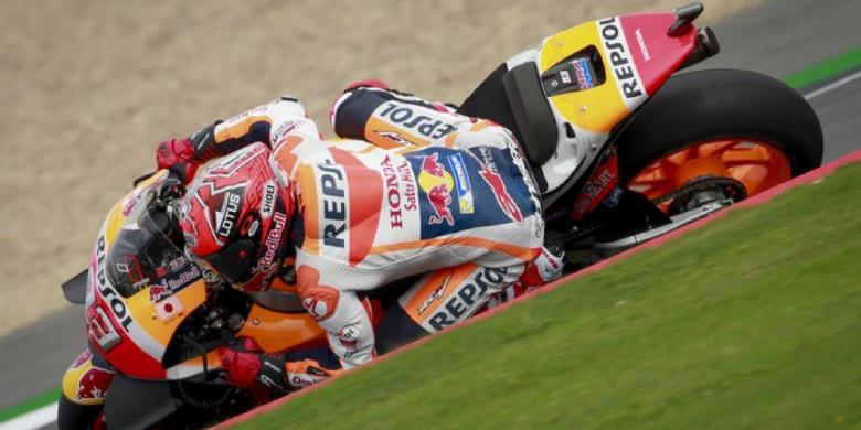 Giliran Marquez Tercepat Pada Sesi Latihan GP Inggris