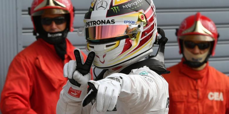 Hamilton Dan Rosberg Kuasai Baris Terdepan Start GP Italia