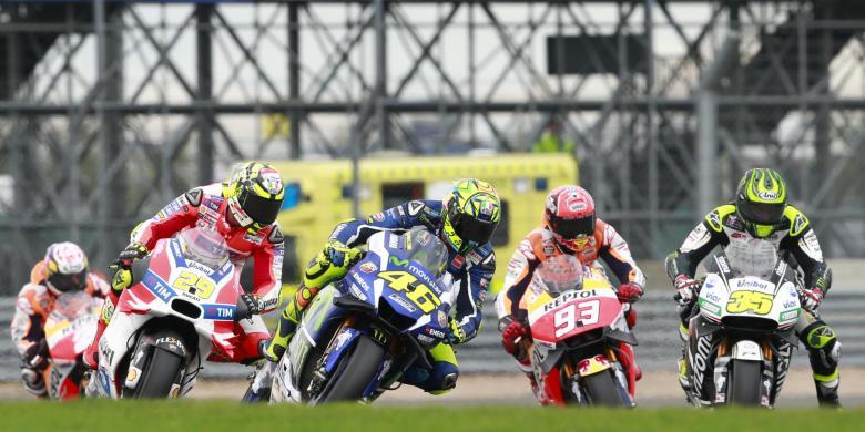 Dua Kesalahan Marquez Saat Balapan GP Inggris