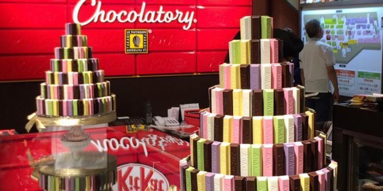"""Lupakan """"Green Tea"""", Ada 300 Varian Rasa KitKat Di Jepang"""
