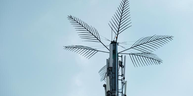 Mengapa Menara BTS Di Jakarta Jadi Mirip Pohon?