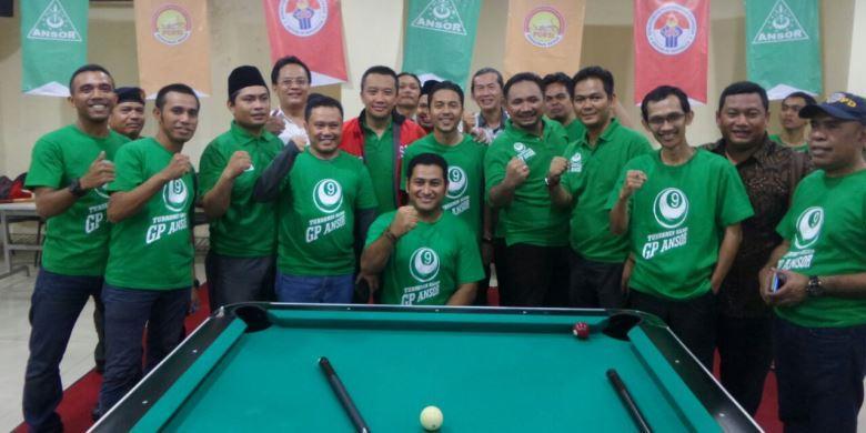 Turnamen Biliar GP Ansor Digelar