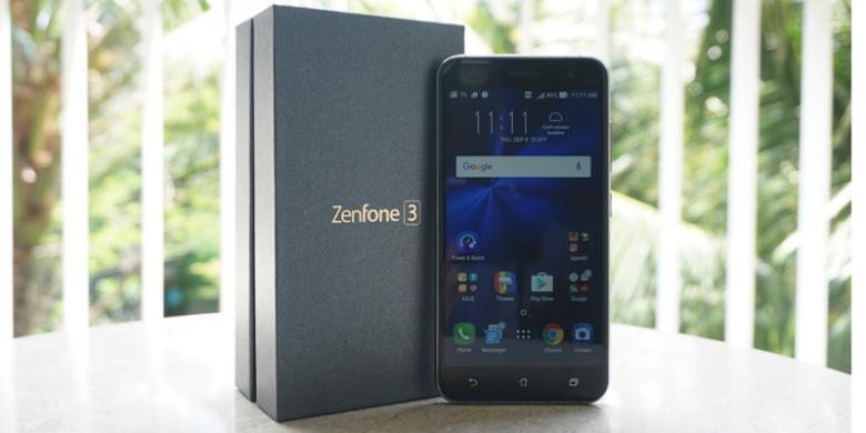 Perbandingan Spesifikasi 5 Varian Zenfone 3