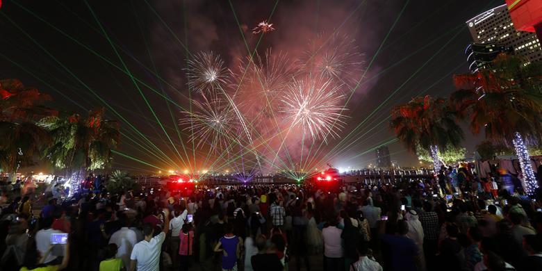 Liburan Idul Adha, Dubai Gelar Konser Musik Sampai Pertunjukan Kembang Api