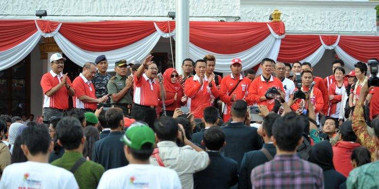 Giliran Jawa Timur Adakan Sambutan Buat Juara