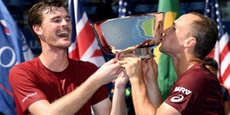 Murray Dan Soares Juara Ganda AS Terbuka