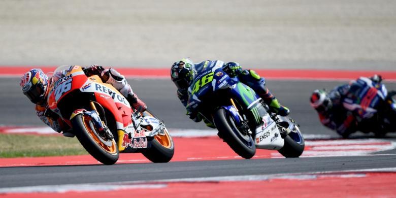 Kalahkan Rossi, Pedrosa Raih Kemenangan Pertama Musim Ini