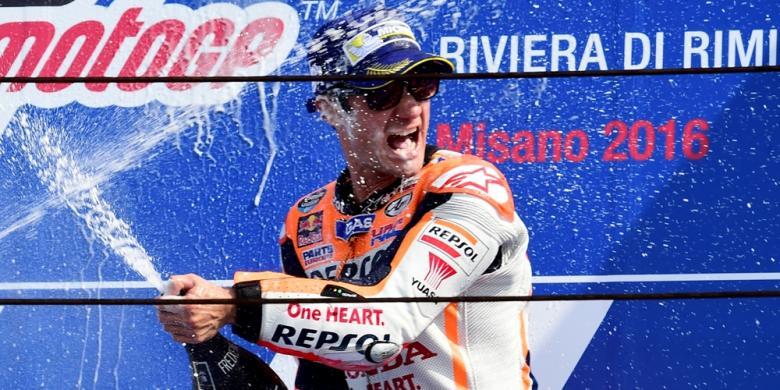 Pedrosa, Pemenang Ke-8 MotoGP 2016